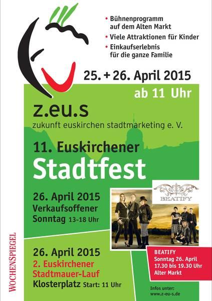 Plakat Stadtfest