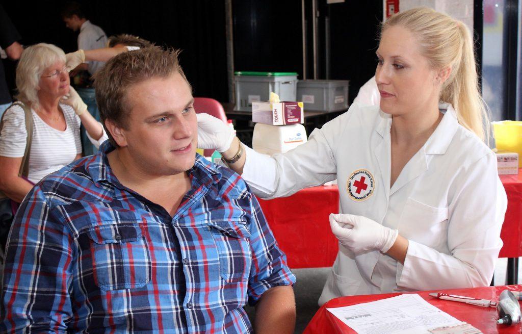 Blutspendemarathon  ag Dennis Walter