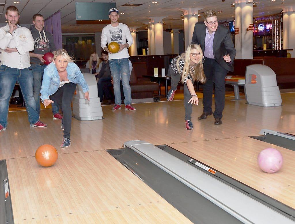 Bowling synchron