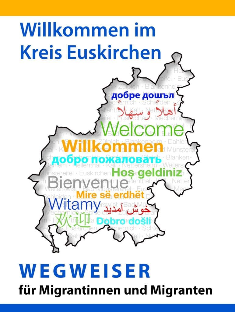 Deckblatt Wegweiser Migranten Wegweiser