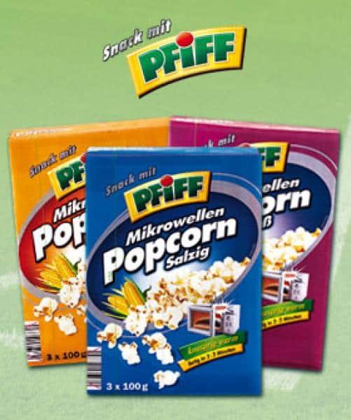 PFIFF Mikrowellen Popcorn