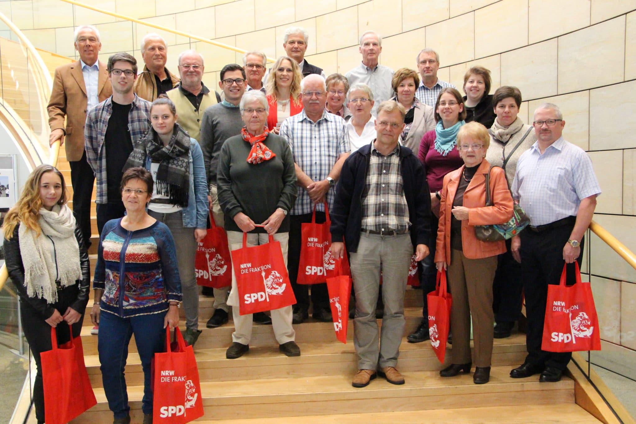 SPD lud in den Landtag ein