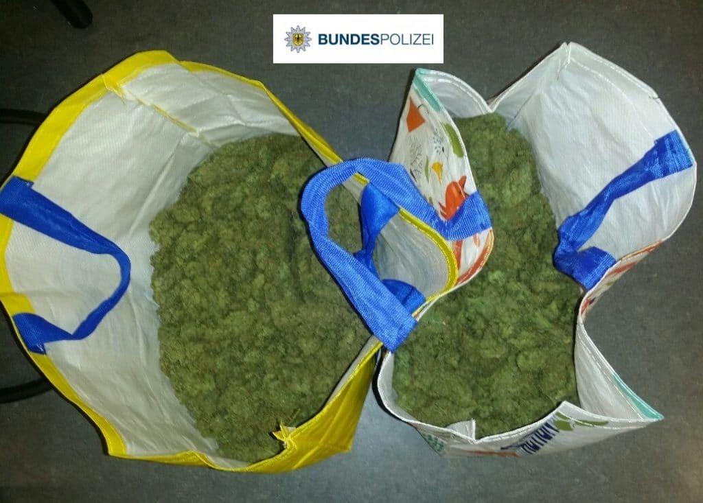sichergestelle drogen bundespolizei