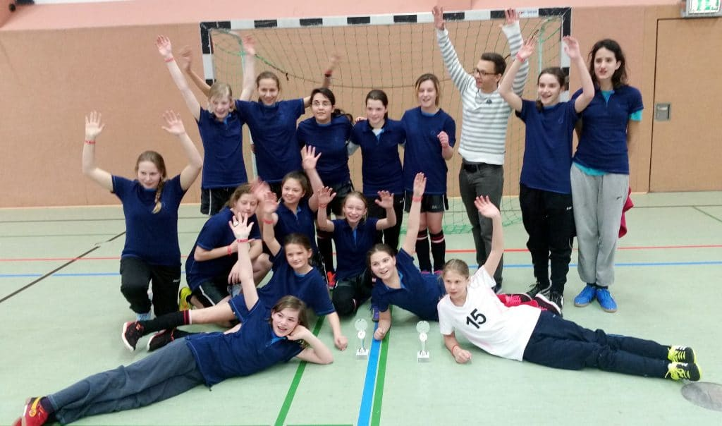 Gesamtschule Mädchenfußball