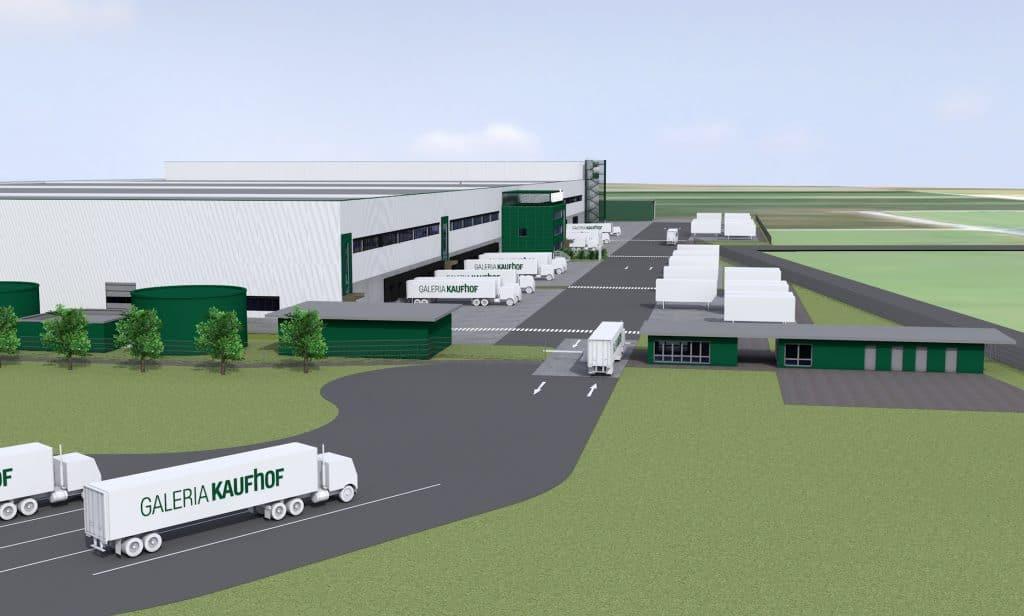 Logistikstandort Zülpich Animation