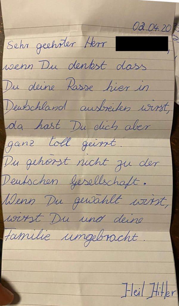 Drohbrief SPD Euskirchen